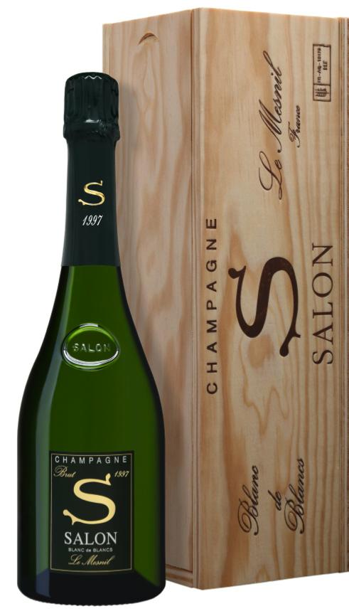 Le mill sime salon 1997 f te ses 20 ans fort et clair for 1997 champagne salon